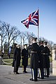 Prime Minister of the United Kingdom Theresa May visits Arlington National Cemetery (32177607870).jpg