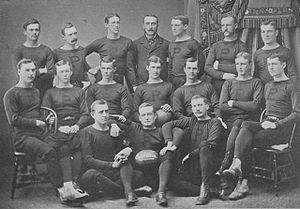 1877 Princeton Tigers football team - Image: Princeton Tigers football team (1877)