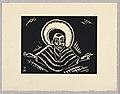 "Print, Christos o Poslednim Soude, Christ, Plate IX, ""Ethiopie, cili Christos, Madonna a Svati, jak jsem ie videl v illuminacich starych ethiopskych kodexu"" Portfolio, 1920 (CH 18684927-2).jpg"