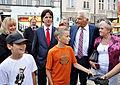 Prof. Jerzy Buzek spotkał się także z mieszkańcami Tarnowskich Gór (6124290391).jpg