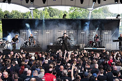 Project Pitchfork auf dem Blackfield Festival 2013