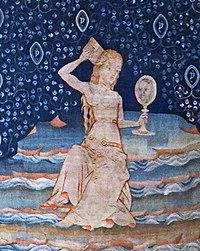La prostituta de Babilonia según el Tapiz del Apocalipsis de Angers