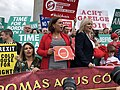 Protest at Boris Johnson visit (48421648797).jpg