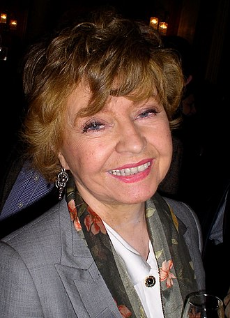 Prunella Scales - Scales pictured in 2010
