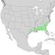 Prunus caroliniana range map 1.png