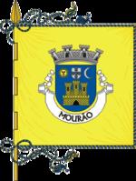 Bandeira da freguesia de Mourão