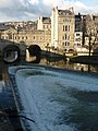 Pulteney Bridge and the Weir - geograph.org.uk - 1708573.jpg