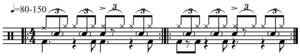 Bernard Purdie - Image: Purdie shuffle