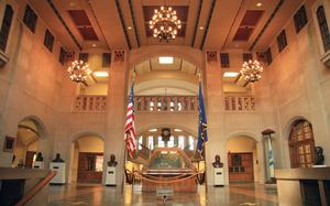 Purdue Memorial Union - Image: Purdue Memorial Union Great Hall