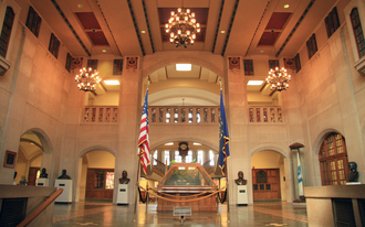 Purdue Memorial Union - Image: Purdue Memorial Union Great Hall