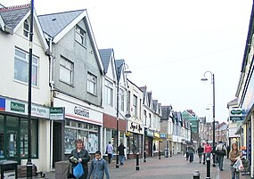 Quay Street, Ammanford (Recreated) - geograph.org.uk - 299161.jpg