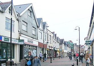 Ammanford - Image: Quay Street, Ammanford (Recreated) geograph.org.uk 299161