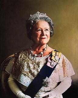 Queen Elizabeth the Queen Mother portrait