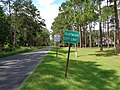 Quitman City limit, Old Madison Rd NB.JPG