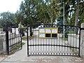 Révfalu cemetery gate, 2018 Győr.jpg