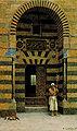 R.Guastalla-Santone davanti alla porta di una Moschea.jpg