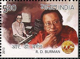 R. D. Burman - Burman on a 2013 stamp of India