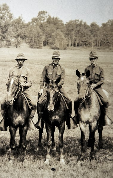 File:ROTC Cavalry at Ft. Ethan Allan, Vermont, July 1931.jpg