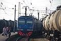 RZD ED9M-0243. Transsib line, Meget station, Irkutsk oblast. (25942472310).jpg