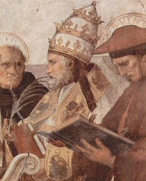 Santi Sergio e Bacco al Foro Romano - Pope Innocent III served as Cardinal Deacon of the church before his election as pope in 1198, endowing the church with gifts and performing renovations both before and during his pontificate.