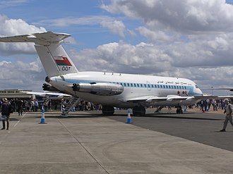 Sultan of Oman's Armed Forces - Royal Air Force of Oman BAC One-Eleven on display at RAF Fairford, England