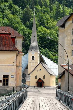 Cave del Predil - Saint Anne Church