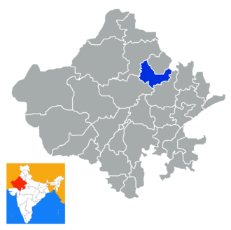 Sikar district - Image: Rajastan Sikar district