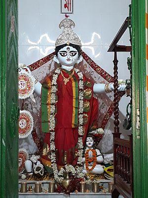 Rajbalhat - The godess Rajballavi Devi