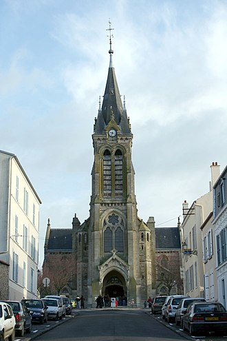 Rambouillet - The church in Rambouillet