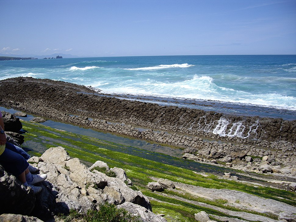 Rasa litoral en Liencres