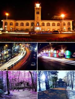 Rasht City in Gilan, Iran