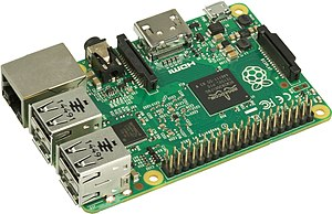 Raspberry Pi - The current Model B boards incorporate four USB ports for connecting peripherals.