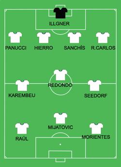 f232dc824ecf2 Time do Real Madrid que enfrentou e conquistou a Champions League 1997-98