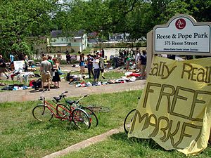 Really Really Free Market - Really Really Free Market organized by Autonomous Athens in Athens, GA on Mayday 2007.