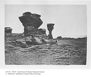 Laramie Plains - Red Buttes, Laramie Plains, ca. 1869