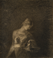 Redon - Salomé with the Head of Saint John the Baptist, ca. 1880-1885.png