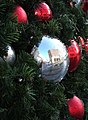 Reflection in a bauble - geograph.org.uk - 628165.jpg