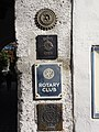 Regensburg - Signs of Rotary Club, Inner Wheel, Chaine de Rotisseurs.jpg