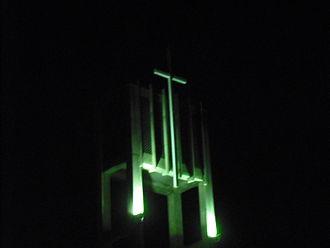 Regina Mundi Catholic College - Closeup of bell tower