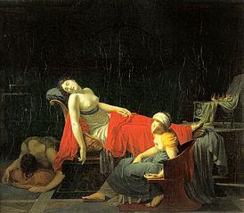 Cleopatras død