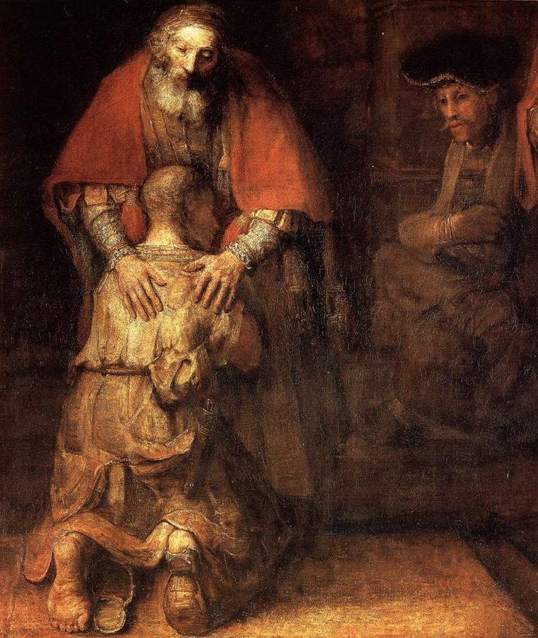 File:Rembrandt - The Return of the Prodigal Son (detail) - WGA19135.jpg