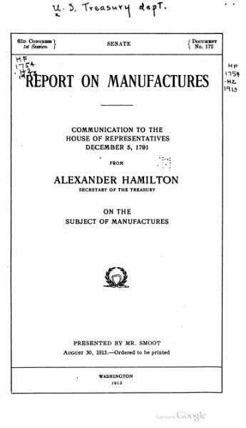 File:Report on Manufactures (Hamilton).djvu