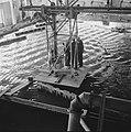 Reportage uit het waterloopkundig laboratorium te Delft, betreffende de droogleg, Bestanddeelnr 900-9474.jpg