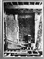 Restant aangetroffen dichtgemetselde raamopeningen in west muur 1e verdieping - Delft - 20048901 - RCE.jpg