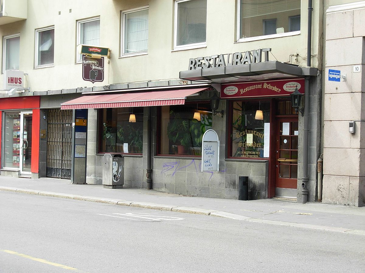 Restaurant schrøder wikipedia