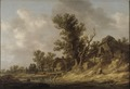 Resting at a Tavern (Jan Josephsz. van Goyen) - Nationalmuseum - 17445.tif