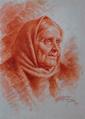 Retrato de Mulher (Cabeça de Camponesa) (1919) - José de Almeida e Silva.png