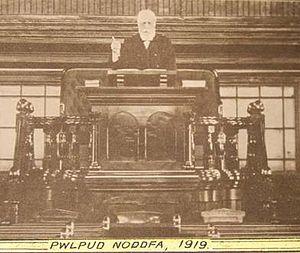 William Morris (Baptist minister) - Rev. William Morris, Treorchy