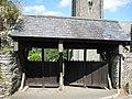 Revolving Lych gates at St George's Church Dittisham - geograph.org.uk - 913518.jpg