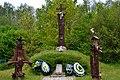 Revushky Turiiskyi Volynska-place of formation of UPA platoons-symbolic signs.jpg